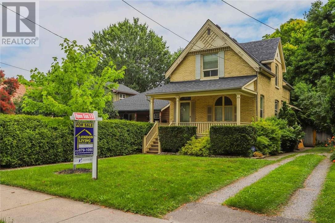 916 Colborne Street, London, OPEN HOUSE Sunday July 29 2PM to 4pm
